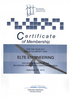 BGWEA_Certificate_for_membership_2011