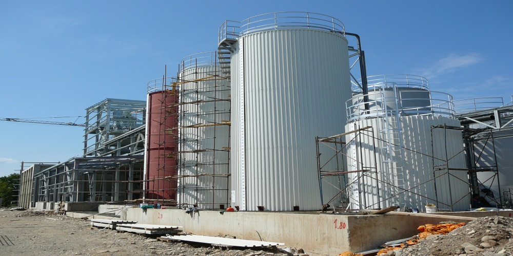 KASTAMONU Bulgaria - Installation for urea-formaldehyde resin